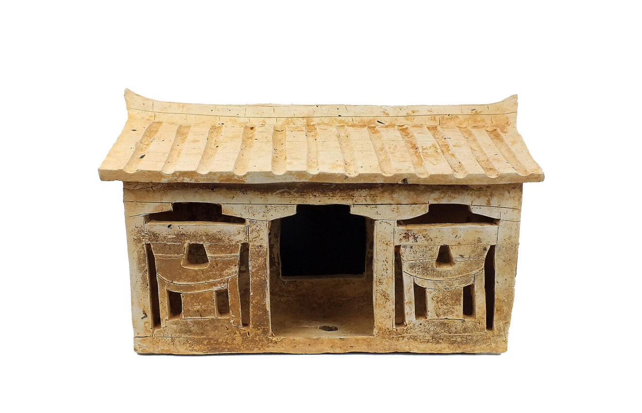 Extremely Rare Pottery House (2)