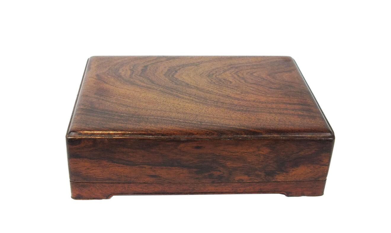 Huanghuali Inkstone Box & Cover (1)