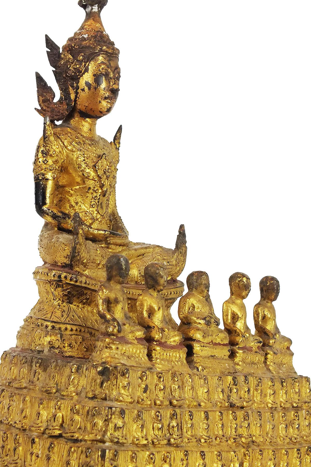 Rare Gilt Bronze Buddha (19)