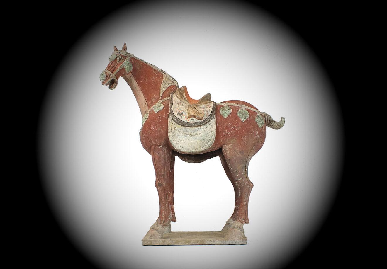 Special Large Caparisoned Horse (1)
