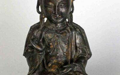 Bronze Figure of GUANYIN, Ming Dynasty