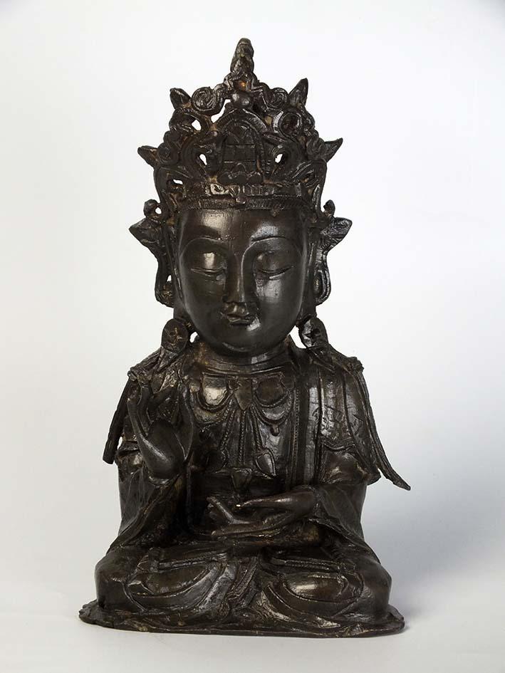 Chinese Ming Bronze Boddhisattva