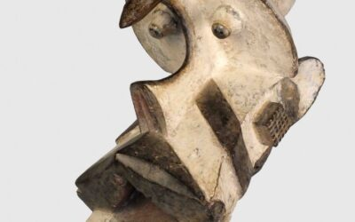 Helmet crest (Ogbodo enyi) Igbo mask