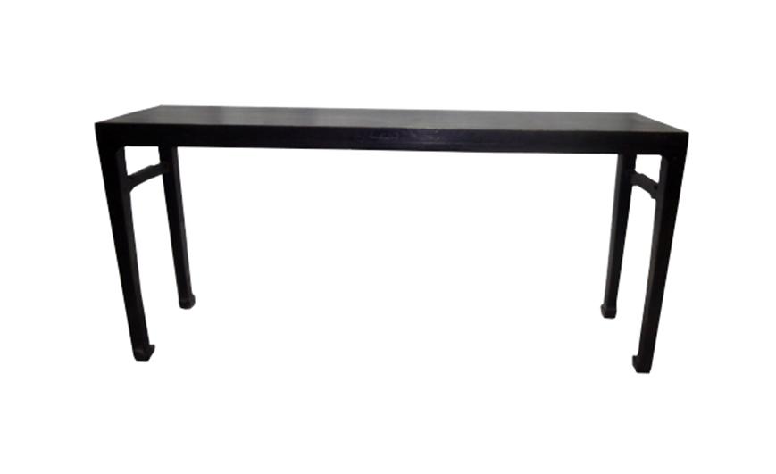 Chinese Corner Leg Lute Table