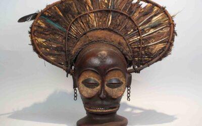 Chokwe Mask Mukishi wa Cihongo
