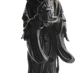 BRONZE FIGURE DAOIST FEMALE IMMORTAL