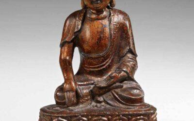 Gilt Bronze Buddha Ming Dynasty