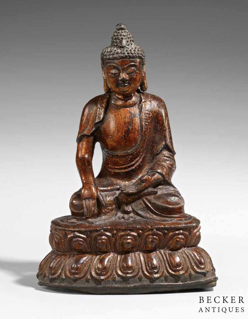 Gilt-Bronze-Buddha-Ming-Dynasty