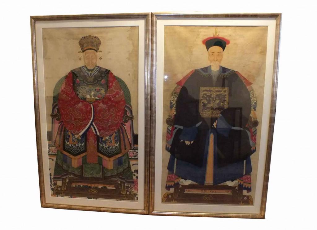 Qing Dynasty Ancestor Portraits