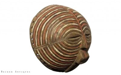 Finely Executed Rare Luba Mask