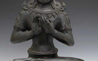 Bronze Figure Manjushri