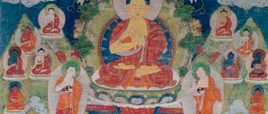 Thirty-five-Buddhas-Thangka-with-Buddha-Shakyamuni