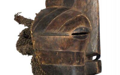 Unusually Interesting Songye Mask