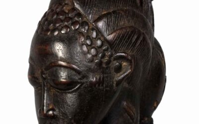 Fine Baoule Maternity Figure