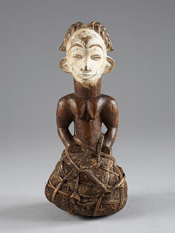 Superb Female Half Figure Punu Lumbo