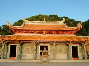南竿天后宮 Large Chinese Goddess Mazu