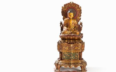 Important Large Chinese Buddha