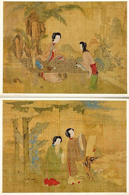 Qing Dynasty Chinese Paintings