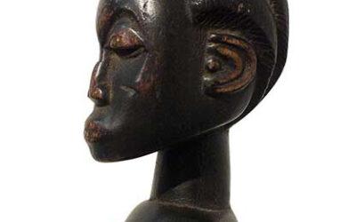 Fine Baule Female Figure