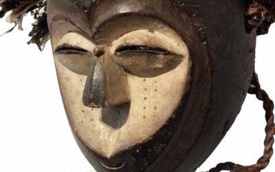 Rare Kwele Mask Gabon