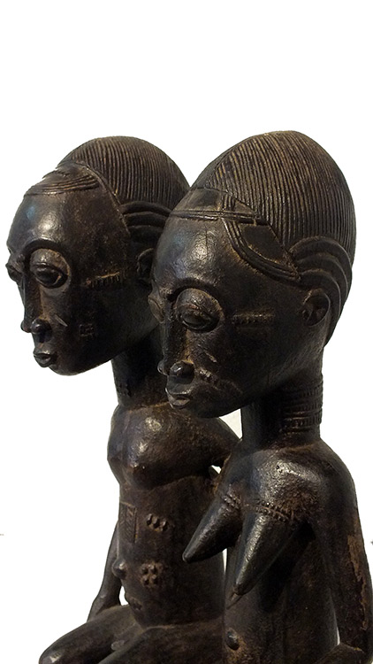 Magnificent Ancestors Baule Couple