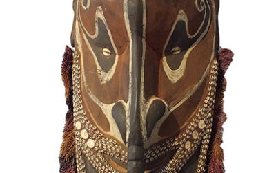 Iatmul Mask Papua New Guinea