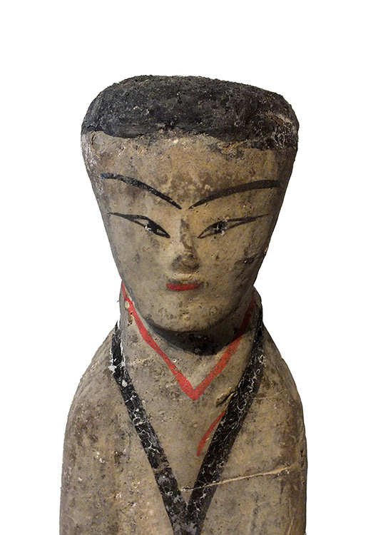 Pottery Female Attendant (3)