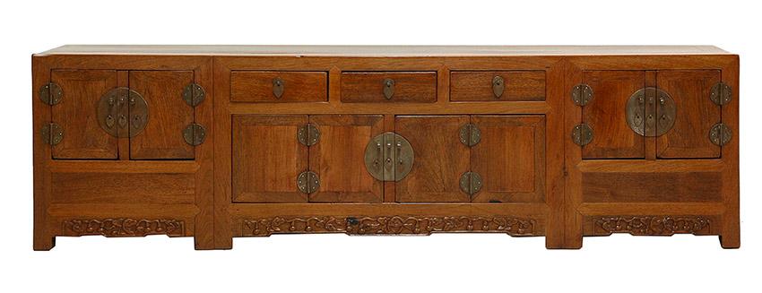 Hardwood Low Cabinet