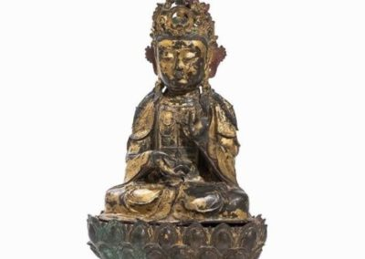 Large Gilded Guanyin Ming (5)
