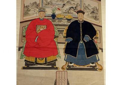 Chinese Ancestor Portrait (2)