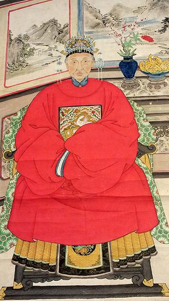Chinese Ancestor Portrait (3)