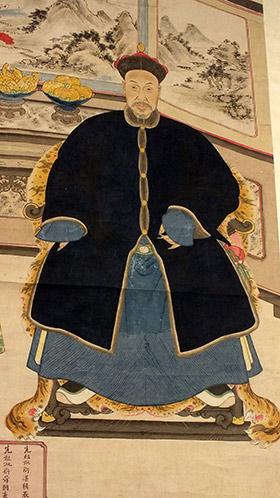 Chinese Ancestor Portrait (4)