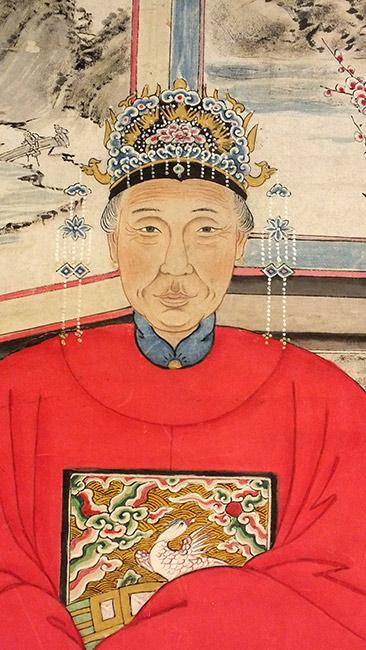 Chinese Ancestor Portrait (7)