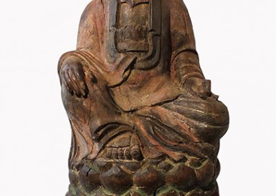 Lovely Large Wood Guanyin (3)
