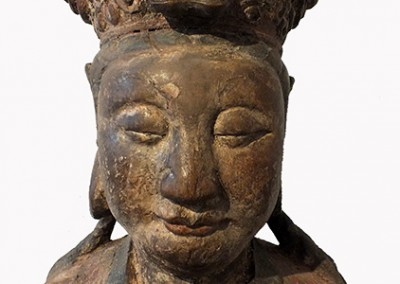 Lovely Large Wood Guanyin (5)