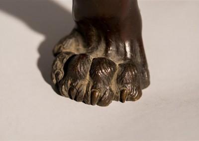 Meiji Period Bronze Tiger  (3)