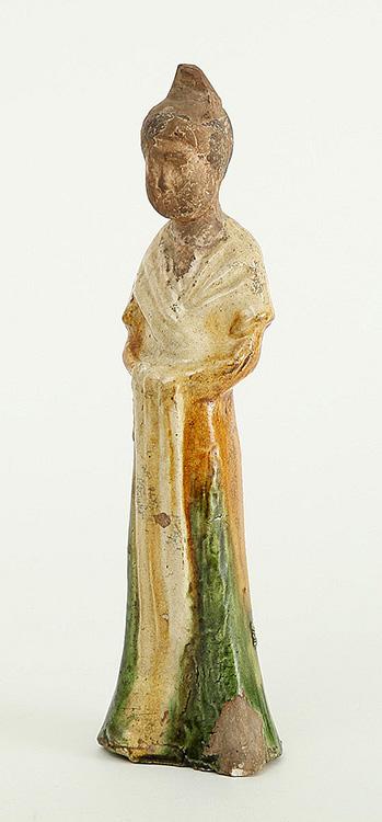 Tang Sancai-Glazed Lady (2)