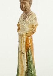 Tang Sancai-Glazed Lady