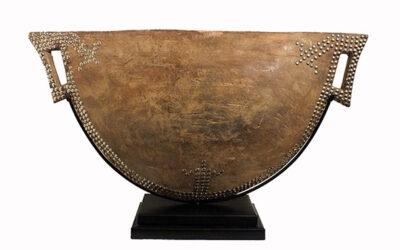Superb Mangbetu Drum
