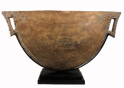 Superb Mangbetu Drum.