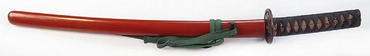 FINE WAKIZASHI SWORD (2)