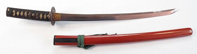 FINE WAKIZASHI SWORD (5)