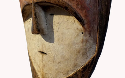 Impressive Kwele Mask