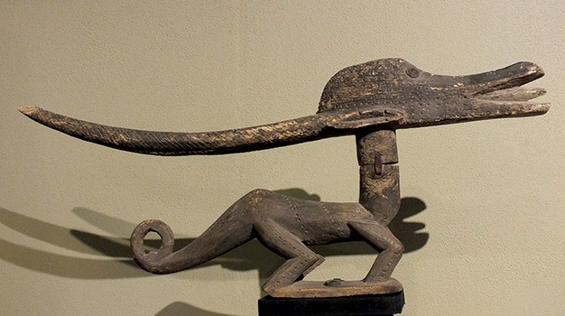 Bamana Antelope Headdress