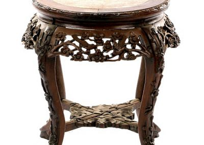 Rosewood Marble Low Table (1)