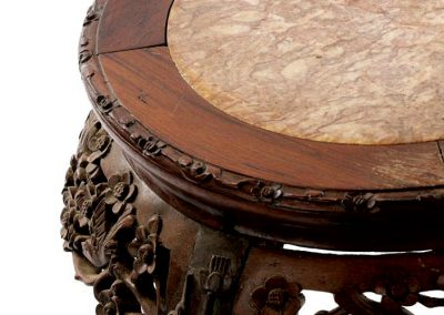 Rosewood Marble Low Table (3)