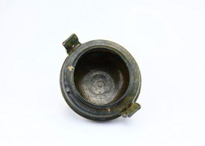 Green Glazed Tripod Vessel (2)