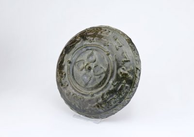 Green Glazed Tripod Vessel (3)