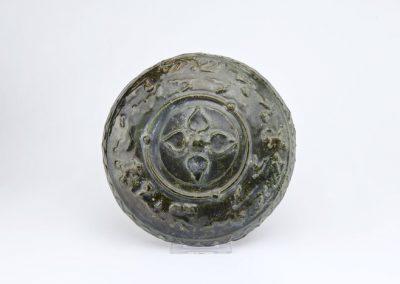 Green Glazed Tripod Vessel (5)