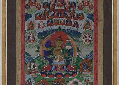 Large Manjushri Thangka